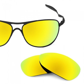 Lente Hotlentes Gold 24k Dourada P  Oakley Crosshair Ti 2012. R  120. 12x  R  10 sem juros b4eaaa7e64