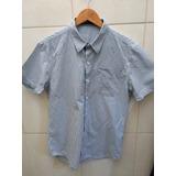 a903f2cf69 Camisa Listrada Clássica Retro Rockabilly Barbearia