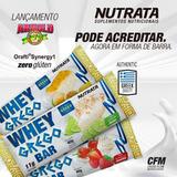 3 Cx Whey Grego Bar Caixa 12unid - Nutrata Barra Proteina