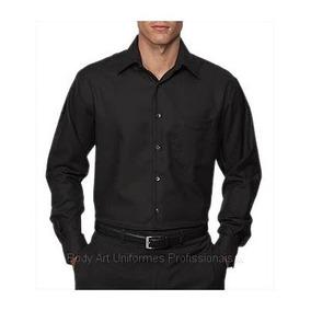 Camisa Social Masculina Manga Curta Lisa - Camisa Social Masculinas ... 4d8edc7c6c278