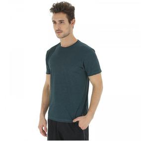 Camiseta Oxer Básica Mescla - Masculina - Cor Azul Esc cinza 8e62fe0fef0
