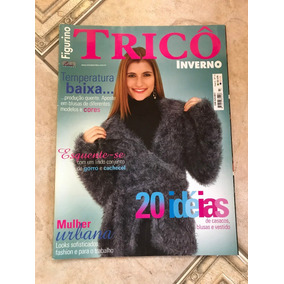 Revista Trico Gorros - Revistas de Coleção no Mercado Livre Brasil 374c40e2035
