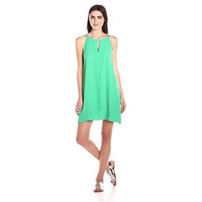 621318d8c Vestido verde jade corto - Vestidos cortos populares
