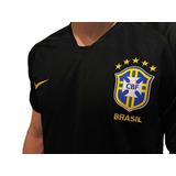 Camisa Seleção Brasileira Goleiro Preta - Futebol no Mercado Livre ... 6a4ca21a8d259