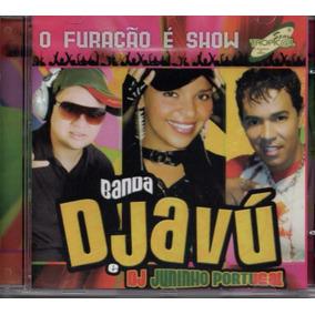 Cd Banda Djavú E Dj Juninho Portugal - O Furacão É Show