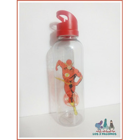 Botella Plastica Flash Dc Comics