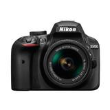 Camara Reflex Nikon D3400, 24mpx + Lente 18-55mm Y Bluetooth