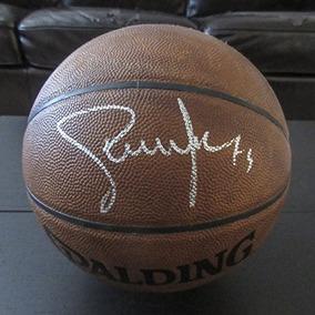 Steve Nash Firmó Tamaño Completo Spalding Basketball Jsa Aut 182927625b4ca
