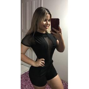 Kit 3 Peças Macaquinho Vestido E Conjunto Lindo Moda Roupas
