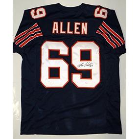 Jared Allen Firmado   Autografiado Navy Blue Pro Style Jerse 1a99f617317d1