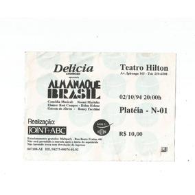 Ingresso Colecionador Almanaque Brasil 1994