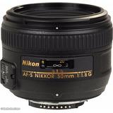 Lente 50mm Fijo Nikon Af-s Dx Nikkor F: 1.8g Autofoco