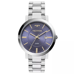 920d296de4a Relógio Feminino Analógico Prata Com Fundo Perolado Leilão ...