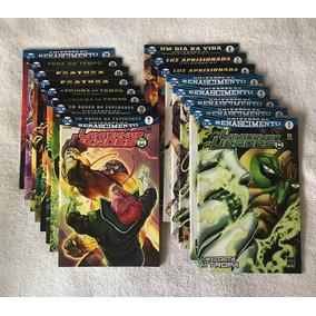 Coleção Renascimento Lanternas Verdes 1 A 16 E Flash 1 A 4