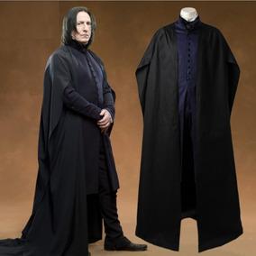 Traje Disfraz Cosplay Tunica Severus Snape Harry Potter