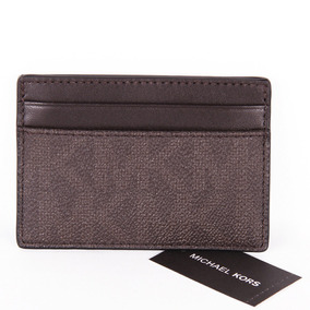 Michael Kors Men Tarjetero Jet Set Signature Caballero