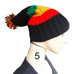 Touca Gorro Reggae Bob Marley Novo Modelo Com Pompom e19fc89d22b