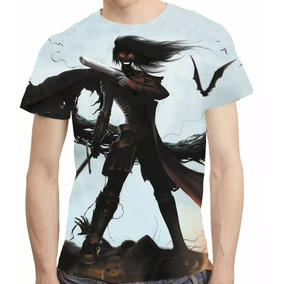 Camisa Anime Camiseta Hellsing - Estampa Total