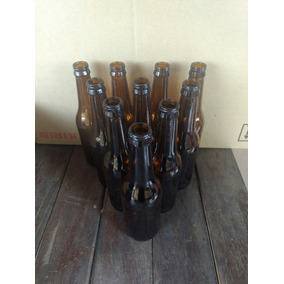 70 Garrafas Long Neck 355ml Ambar Vazia P/ Cerveja Artesanal