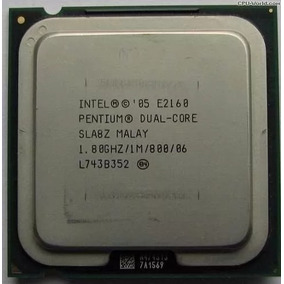 Processador Intel® Pentium® E2160 (cache 1m, 1,80 Ghz, Fsb