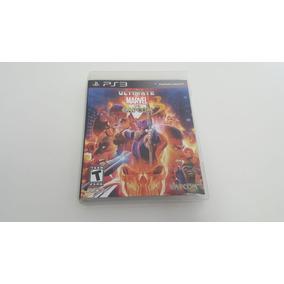 Ultimate Marvel Vs Capcom 3 - Ps3 - Original - Mídia Física