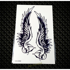 Tatuagem Temporária Fake Tatoo Pronta Entrega Par De Asas