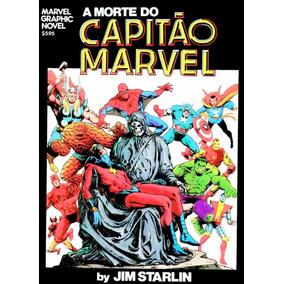 Hq - A Morte Do Capitão Marvel - Completo Em Pdf