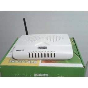 Modem Router Wi-fi Adsl ,2 En 1 Malata