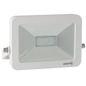 Refletor Led 10w Design Branco | Branco Frio (6000k) - Ledsa
