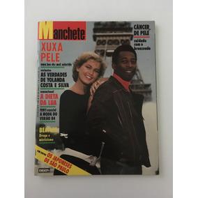 Revista Manchete Xuxa Pelé - 4 Junho 1983 Nº 1624