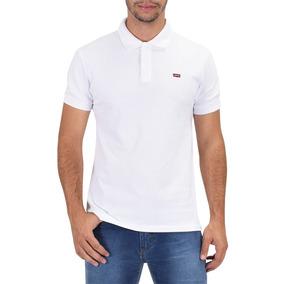 Camiseta Polo Masculina - Branca - Levis