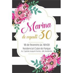 Convite Aniversario 30 Anos Convites De Aniversário Infantil No