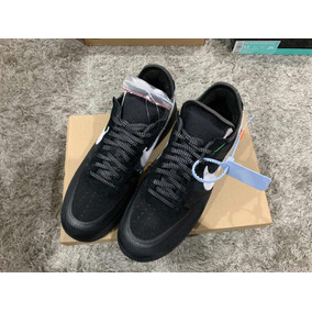 Sneakers Originales Air Force 1 Low Off White Black White