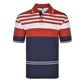 a66e6aedbc Camisa Polo Malha Listrada Importada Sem Bolso Vm18gp076