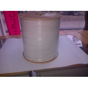 Cable Coaxial Rg 6u 75 Ohm (300mts)