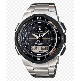 d677cd26a2c Casio Outgear Sgw 400 Hd Sgw 400 Sgw400 Sgw 400 - Relógio Masculino ...