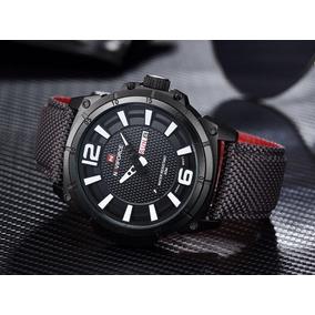 2586f7c371d Pulseira De Nylon Para Relogio Naviforce - Relógios no Mercado Livre ...