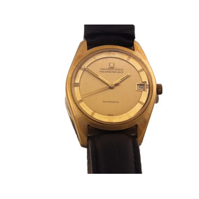 Relógio Universal Geneve Polerouter Date Ouro Rose J10853
