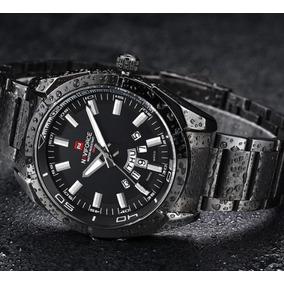 Relógio Casual Masculino Pulseira Preta