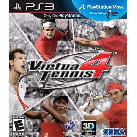 Virtua Tennis 4 Ps3 - Mídia Fisica | Com Garantia Playgorila