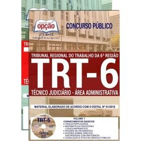 Apostila Trt 6ª Região (pe) 2018 - Técnico Judiciário