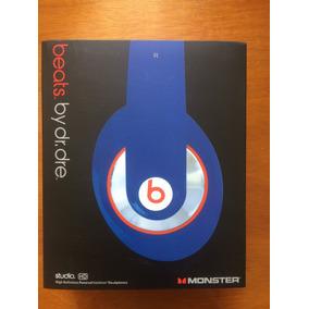 Audífonos Beats By Dre Studio Hd Azul Con Cable 3.5 Mm