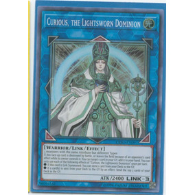 Curious, The Lightsworn Dominion Exfo - Yugioh Cards