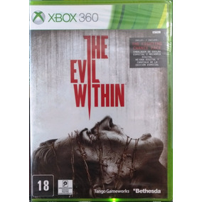 The Evil Within Xbox 360 Jogo Original Lacrado Mídia Física