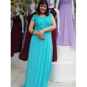 Vestido Azul Piscina - Vestidos Femininas no Mercado Livre Brasil 71232cd83c