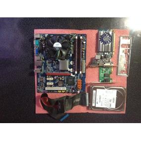 Kit Gamer Placa Mãe E Placa De Video Gt 710 Preço Negociavel