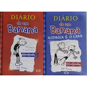 Diário De Um Banana Capa Dura 1 E 2 - 2 Livros Frete 16