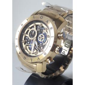 9e78d3e51df Relogio Bvlgari Esquelety - Relógios no Mercado Livre Brasil