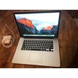 Macbook Pro 15 Mid 2015