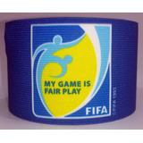 Gafete Capitan My Game Is Fair Play Fifa Brasil